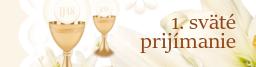 1. sväté prijímanie