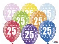 Balón č.25 strieborný, 10ks