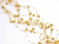Perličky na silikóne zlaté