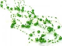 Perličky na silikóne zelené