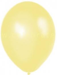 Balón perleťový krémový,10ks