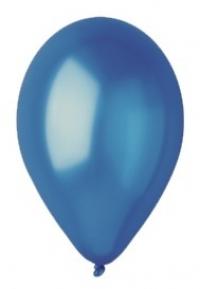 Balón perleťový tmavomodrý,10ks