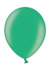 Balón perleťový tyrkysový,10ks
