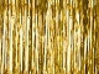 Party záves - zlatý