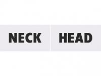 Tabuľky Head / Neck
