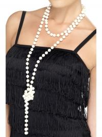 Party doplnok_perlový náhrdelník