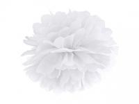 Pompom biely, 35cm