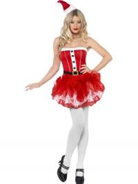 Dámsky kostým Santa TuTu