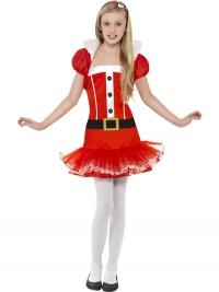 Dievčenský kostým Little Miss Santa