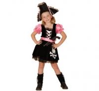 Kostým Pirátka ružová