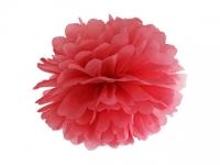 Pompom červený, 35cm