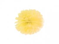 Pompom žltý, 25cm