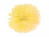 Pompom žltý, 35cm