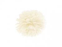 Pompom krémový, 25cm