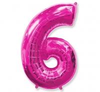Balón č. 6 ružový