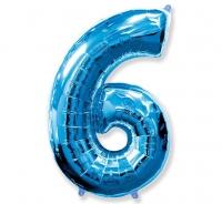 Balón č. 6 modrý