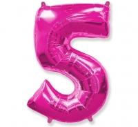 Balón č. 5 ružový
