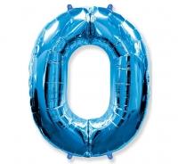 Balón č. 0 modrý