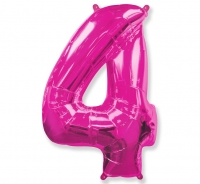Balón č. 4 ružový