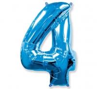 Balón č. 4 modrý