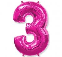 Balón č. 3 ružový