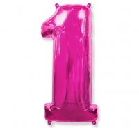 Balón č. 1 ružový