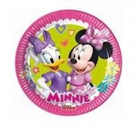 Taniere Minnie ružové, 20cm