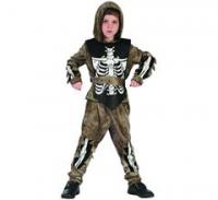 Kostým Zombie kostlivec detský