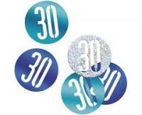 Konfety 30 modré