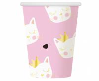 Papierové poháre Mačičky