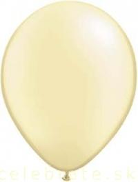 Balón perleťový maslový,10ks