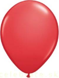 Balón perleťový červený,10ks