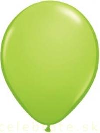 Balón perleťový zelený,10ks