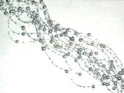 Perličky na silikóne strieborné