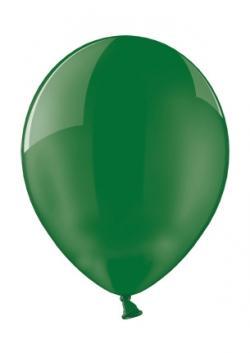 Balón perleťový tmavozelený,10ks