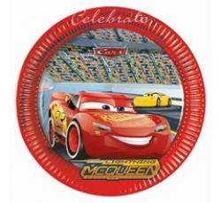 Party taniere Cars, 23cm