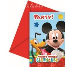 Party pozvánky Playful Mickey