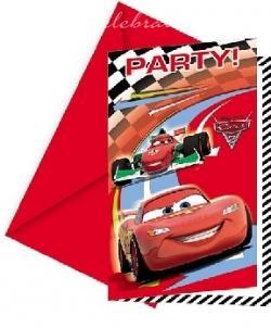 Party pozvánky Cars 2