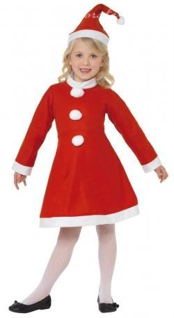Mikulášsky kostým pre dievča S,L