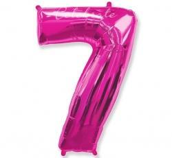 Fóliový balón č.7 ružový