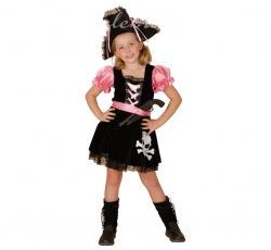 Kostým Ružová pirátka