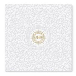 Servítky Icon biele