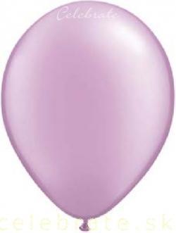 Balón perleťový fialový bledý,10ks
