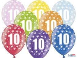 Balón č.10, 10ks