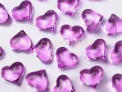Srdiečka akryl ružové